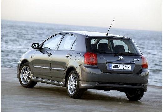 Toyota Corolla VII hatchback szary ciemny tylny lewy