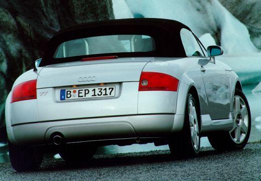 AUDI TT Coupe 8N roadster silver grey tylny prawy