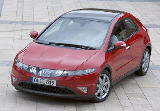 HONDA Civic VI hatchback czerwony jasny przedni lewy