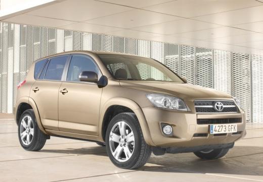 Toyota RAV4 V kombi beige przedni prawy