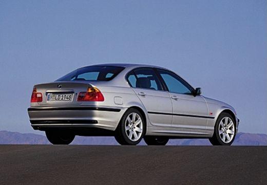 BMW Seria 3 sedan silver grey tylny prawy
