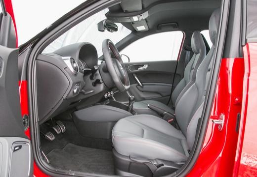 AUDI A1 Sportback II hatchback wnętrze