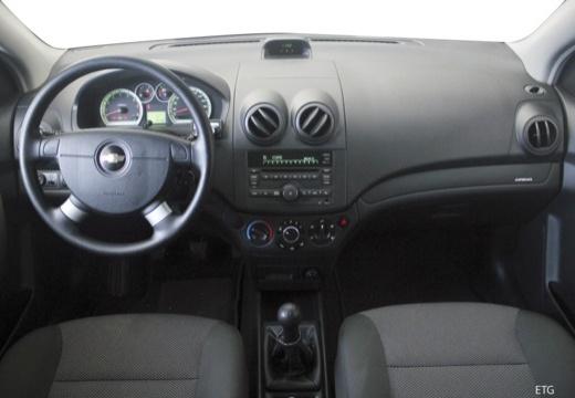 CHEVROLET Aveo II hatchback tablica rozdzielcza