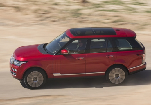 LAND ROVER Range Rover VI kombi czerwony jasny przedni lewy