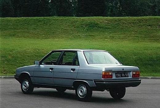 RENAULT R9 sedan niebieski jasny tylny lewy