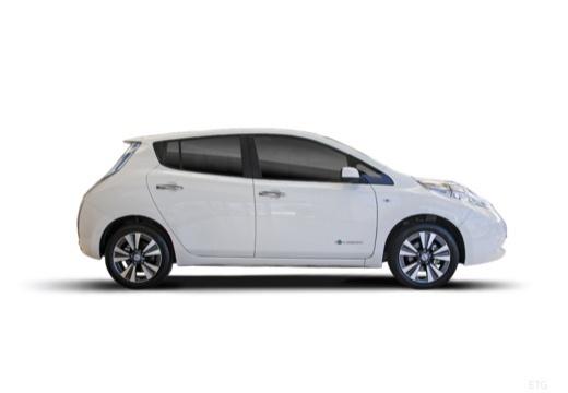 NISSAN Leaf II hatchback boczny prawy