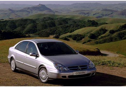 CITROEN C5 I hatchback silver grey przedni prawy