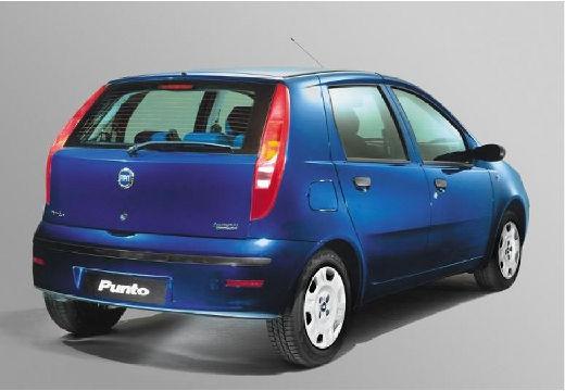 FIAT Punto II II hatchback niebieski jasny tylny prawy