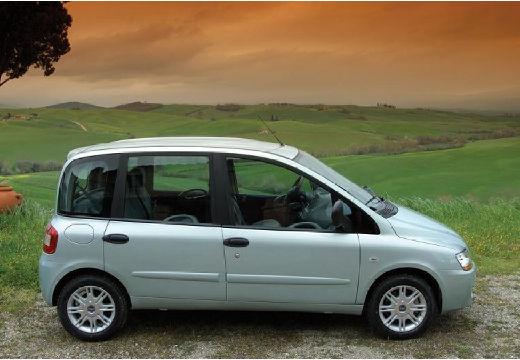 FIAT Multipla II kombi niebieski jasny boczny prawy