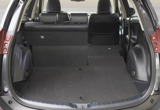 Toyota RAV4 VII kombi przestrzeń załadunkowa