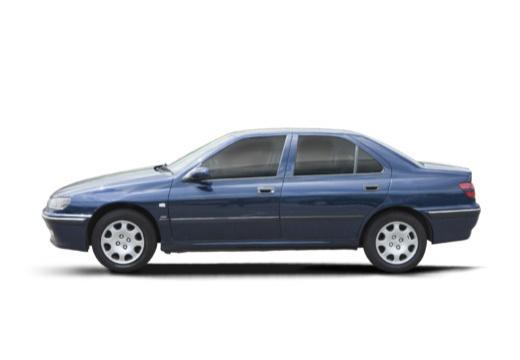 PEUGEOT 406 sedan boczny lewy