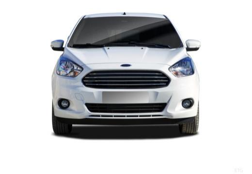 FORD Ka+ hatchback biały przedni
