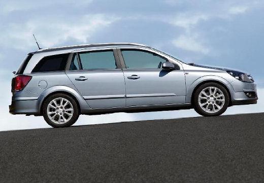 OPEL Astra III I kombi silver grey boczny prawy