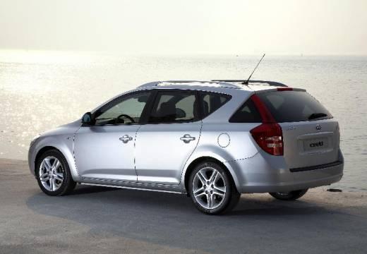 KIA Ceed Sporty Wagon I kombi silver grey tylny lewy