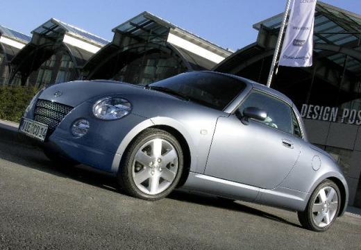 DAIHATSU Copen I roadster silver grey przedni lewy