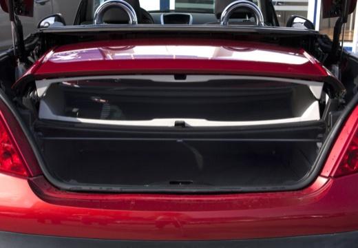 PEUGEOT 207 CC I kabriolet przestrzeń załadunkowa