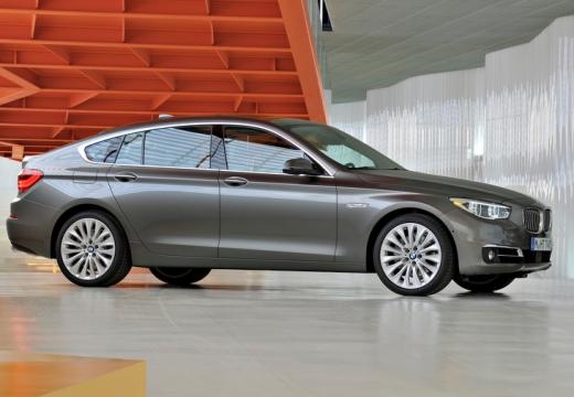 BMW Seria 5 Gran Turismo F07 II hatchback silver grey przedni prawy