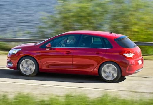 CITROEN C4 III hatchback czerwony jasny tylny lewy