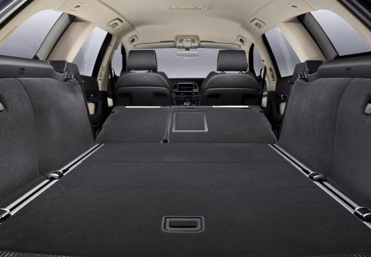 AUDI A6 kombi przestrzeń załadunkowa
