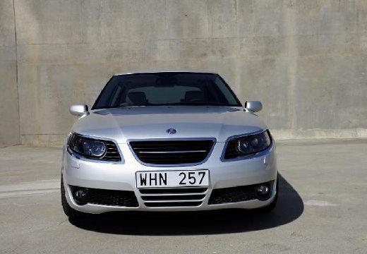 SAAB 9-5 sedan silver grey przedni