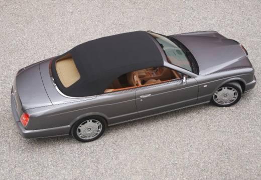 BENTLEY Azure kabriolet silver grey tylny prawy