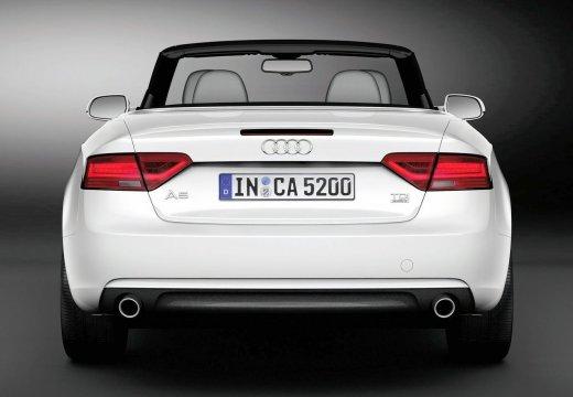 AUDI A5 II coupe biały tylny