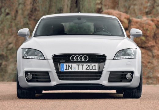 AUDI TT II coupe silver grey przedni