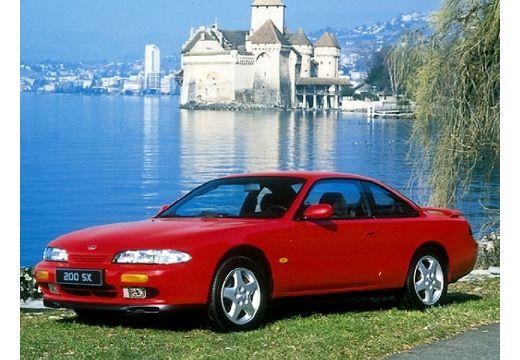 NISSAN 200 SX coupe czerwony jasny przedni lewy