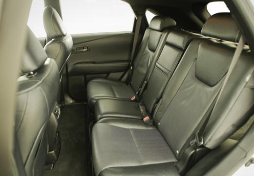 LEXUS RX III kombi biały wnętrze