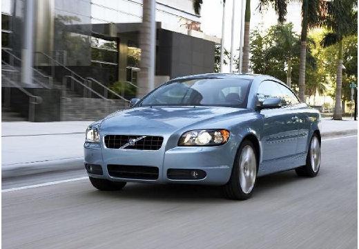 VOLVO C70 kabriolet niebieski jasny przedni lewy