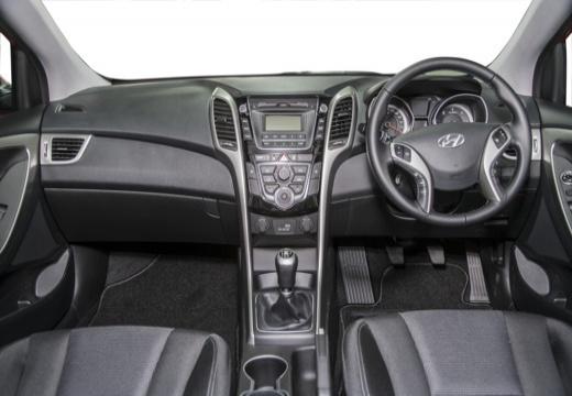 HYUNDAI i30 IV hatchback czerwony jasny tablica rozdzielcza