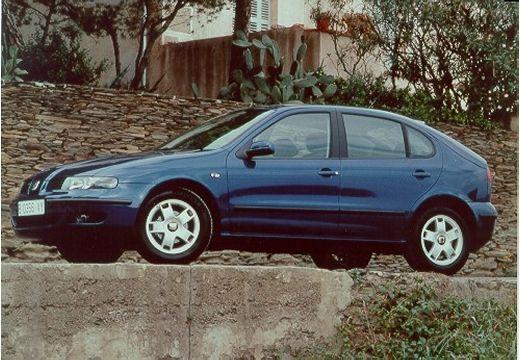 SEAT Leon I hatchback niebieski jasny przedni lewy