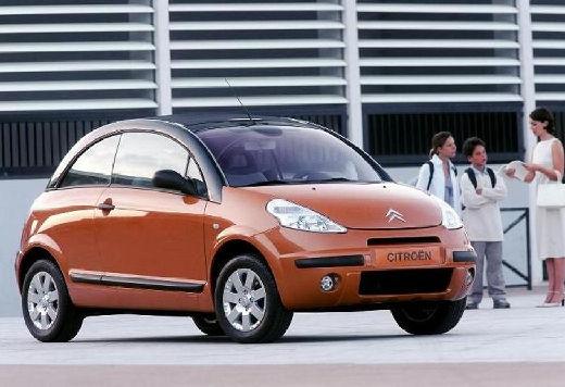 CITROEN C3 Pluriel hatchback pomarańczowy przedni prawy