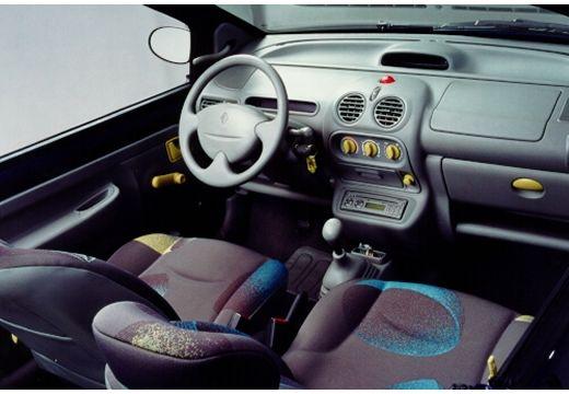 RENAULT Twingo II hatchback wnętrze