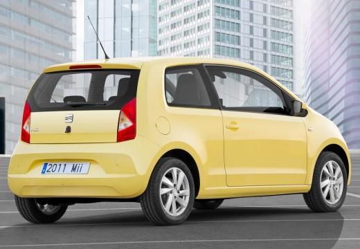 SEAT Mii hatchback żółty tylny prawy