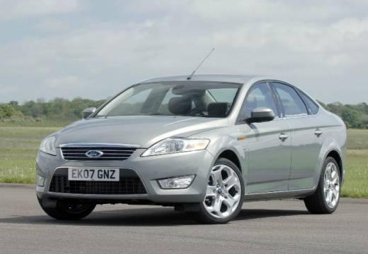 FORD Mondeo VI sedan silver grey przedni lewy