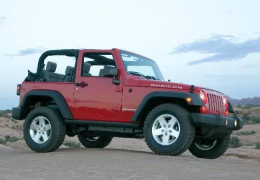 JEEP Wrangler III soft top czerwony jasny przedni prawy