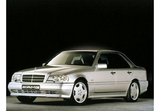 MERCEDES-BENZ Klasa C HO 202 I sedan silver grey przedni lewy