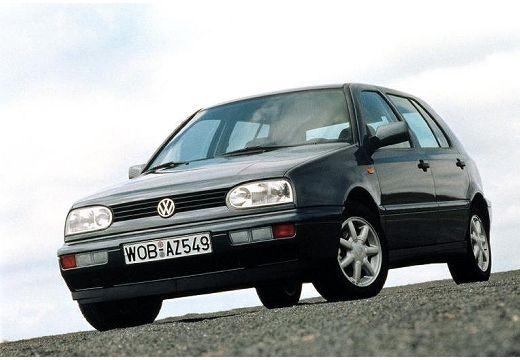 VOLKSWAGEN Golf III hatchback szary ciemny przedni lewy