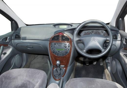 CITROEN C5 I hatchback silver grey tablica rozdzielcza