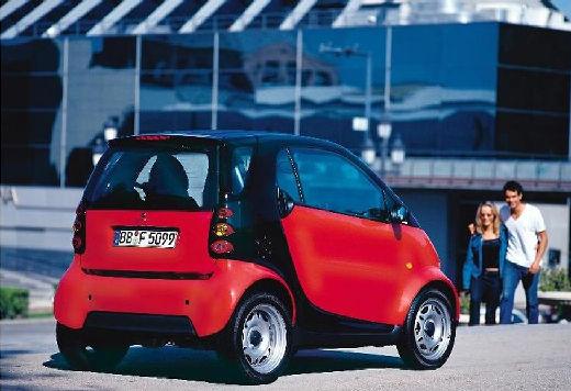 SMART fortwo city/ coupe czerwony jasny tylny prawy