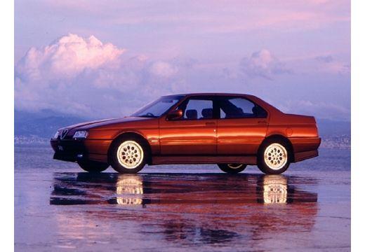 ALFA ROMEO 164 I sedan bordeaux (czerwony ciemny) przedni lewy