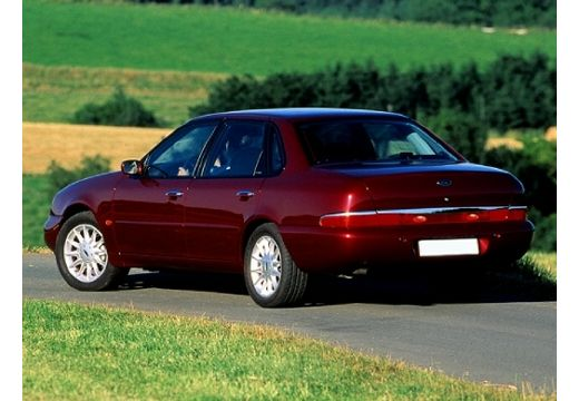 FORD Scorpio II sedan bordeaux (czerwony ciemny) tylny lewy