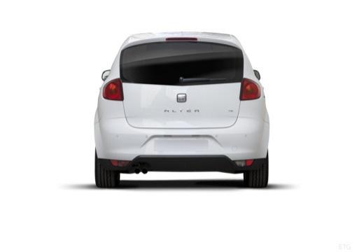 SEAT Altea II hatchback biały tylny