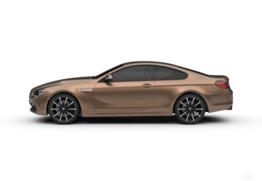 BMW Seria 6 coupe boczny lewy