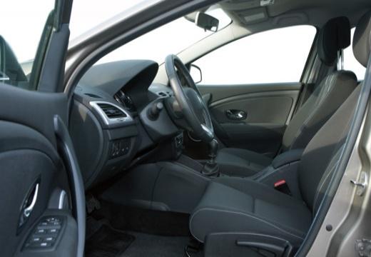 RENAULT Megane III II hatchback szary ciemny wnętrze