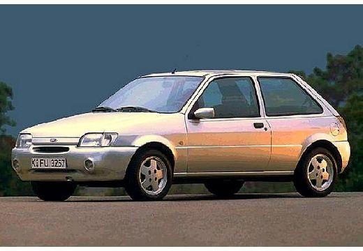 FORD Fiesta II hatchback silver grey przedni lewy