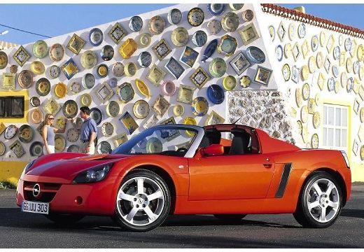 OPEL Speedster roadster czerwony jasny przedni lewy
