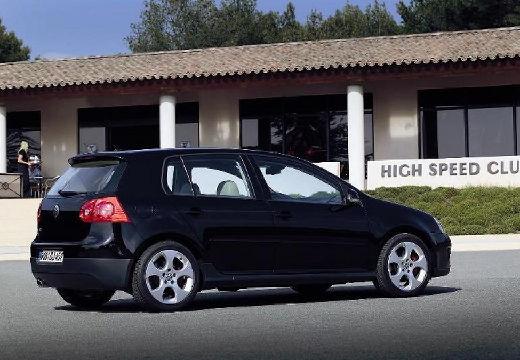 VOLKSWAGEN Golf V hatchback czarny tylny prawy