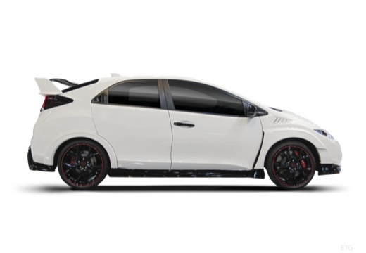 HONDA Civic IX hatchback boczny prawy